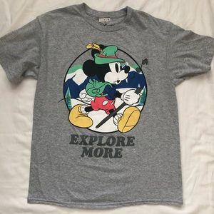 Disney Mickey Mouse T Shirt Sz M